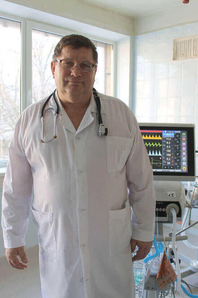 Відділення анестезіології та інтенсивної терапії та хронічного діалізу