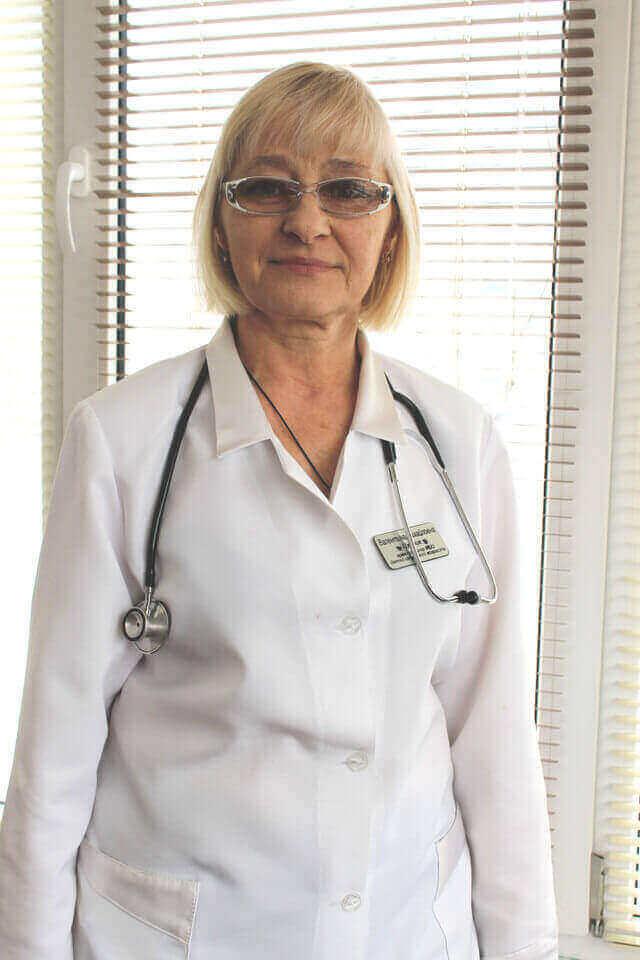 Цуприк Валентина Михайлівна Міська дитяча лікарня №5 детская больница Запорожье