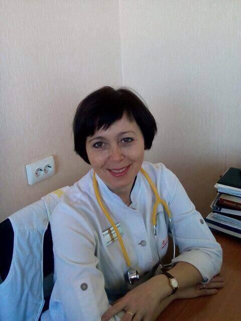 Гапон Олена Євгеніївна Міська дитяча лікарня №5 детская больница Запорожье