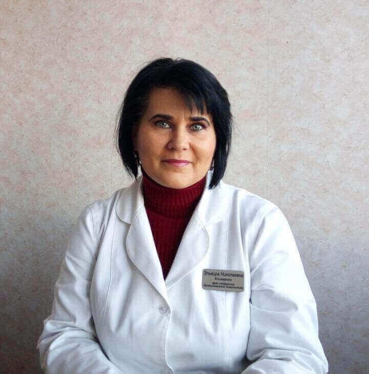 Клименко Ельвіра Миколаївна Міська дитяча лікарня №5 детская больница Запорожье