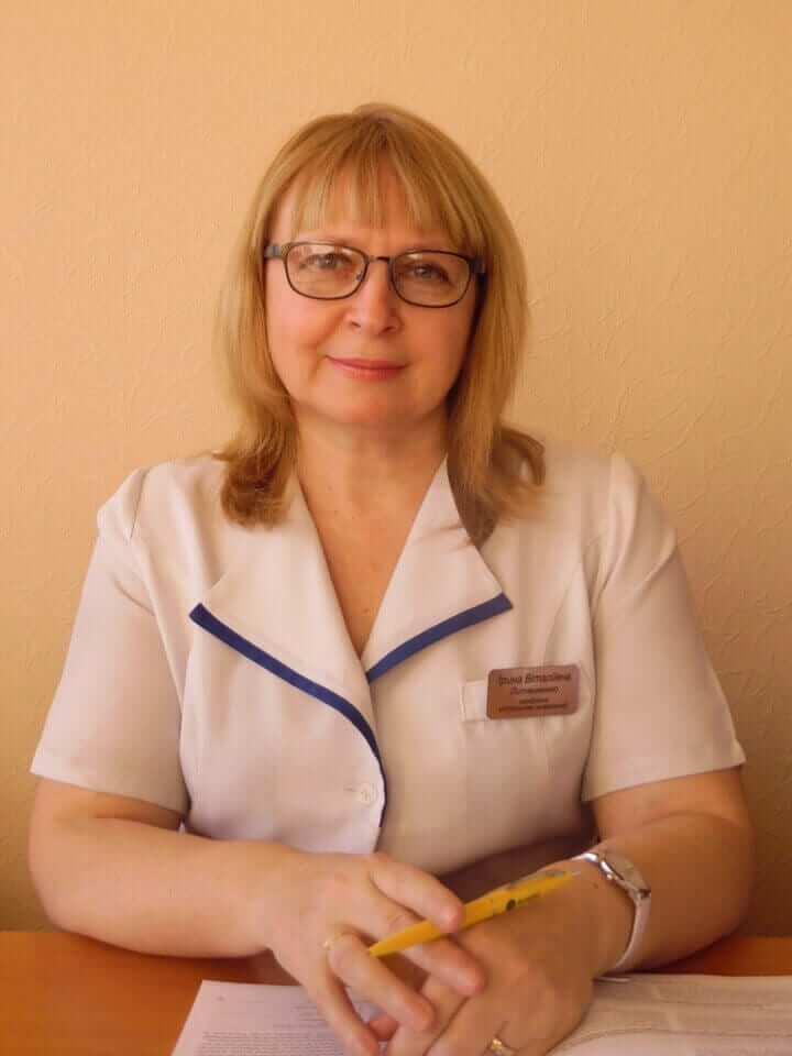 Литвиненко Ірина Віталіївна Міська дитяча лікарня №5 детская больница Запорожье