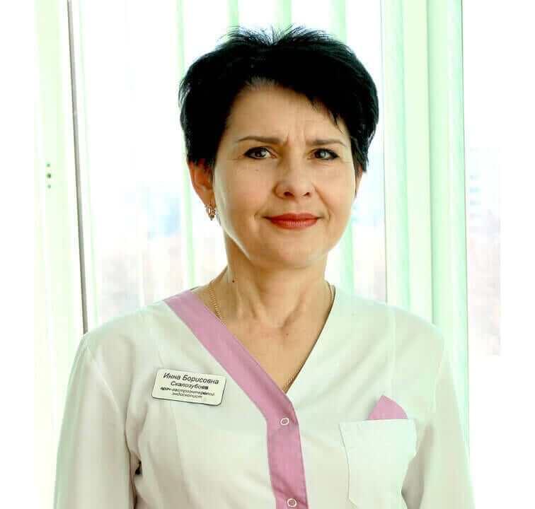 Скалозубова Інна Борисівна Міська дитяча лікарня №5 детская больница Запорожье