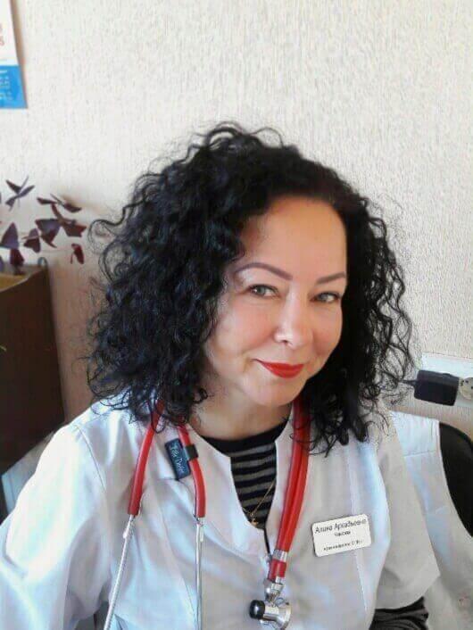 Чалова Аліна Аркадіївна Міська дитяча лікарня №5 детская больница Запорожье