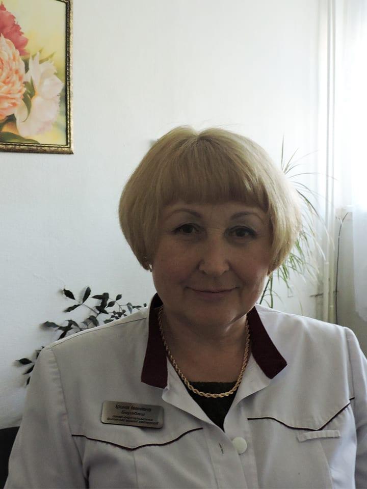 Барабаш Ірина Іванівна Міська дитяча лікарня №5 детская больница Запорожье