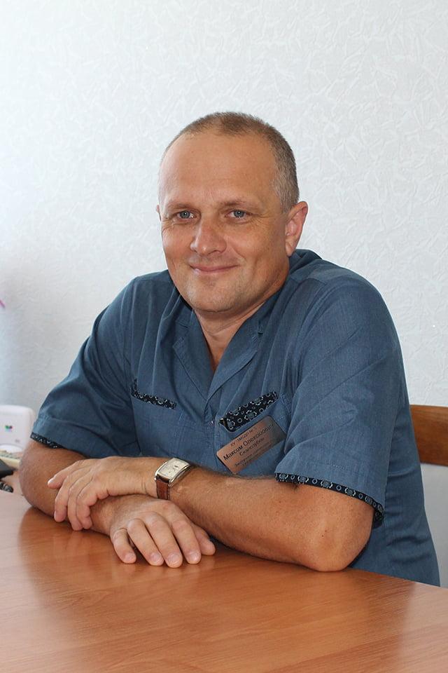 Скалозубов Максим Олексійович Міська дитяча лікарня №5 детская больница Запорожье