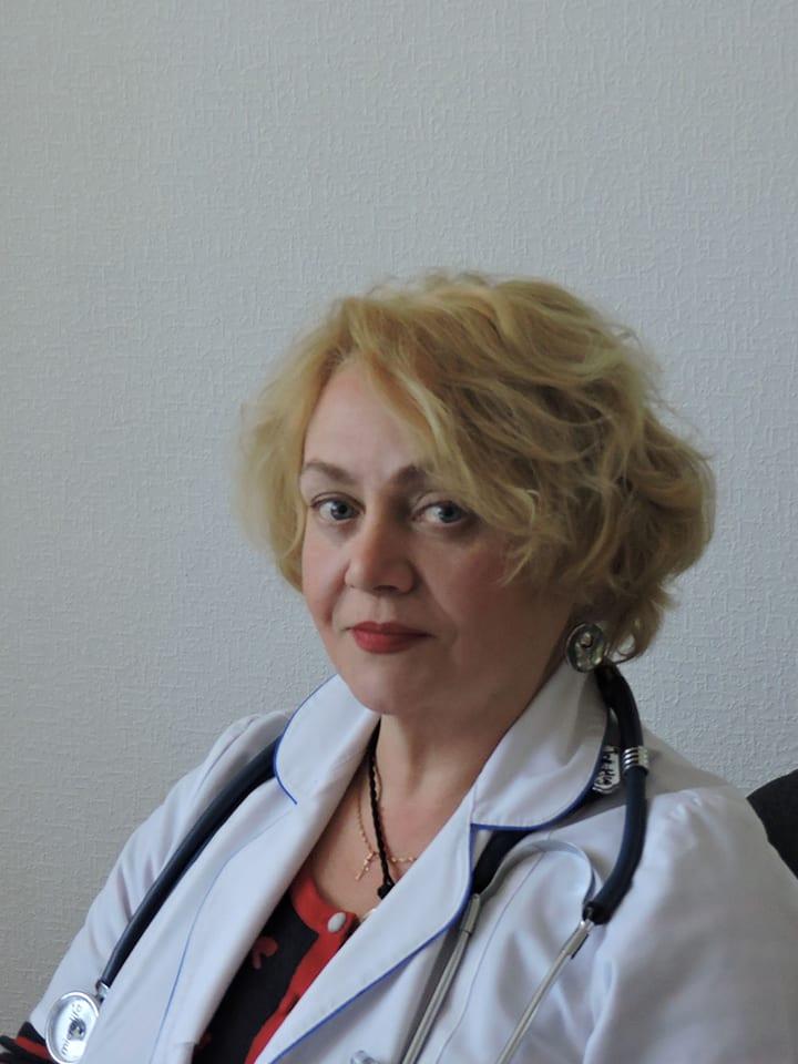 Токарева Надія Яківна Міська дитяча лікарня №5 детская больница Запорожье