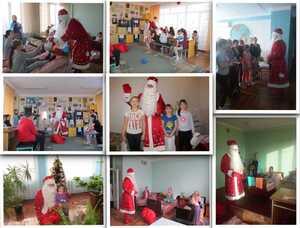 , Напередодні новорічних свят пацієнти лікарні  не залишилися без подарунків, Міська  дитяча лікарня №5