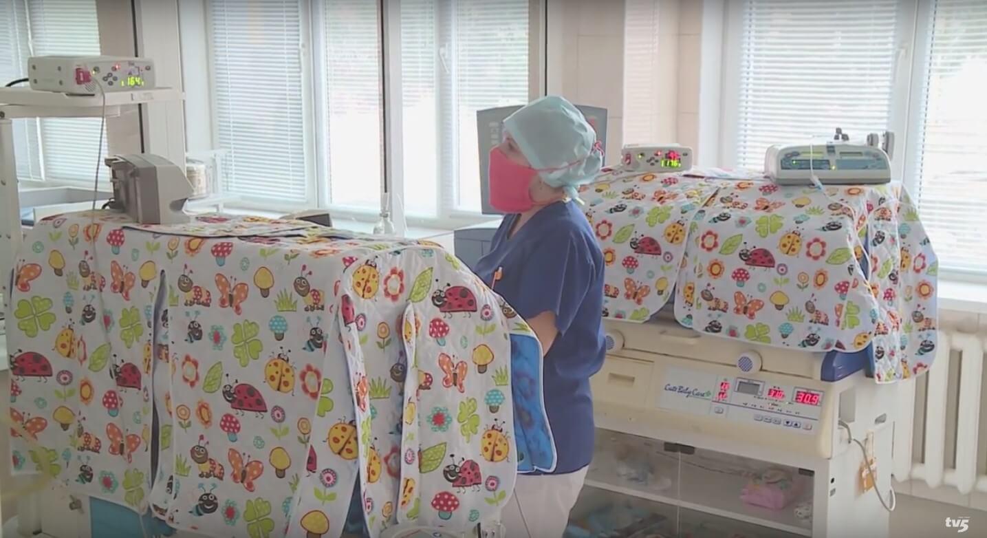 , У відділенні анестезіології та інтенсивної терапії новонародженим  нове медичне обладнання, Міська  дитяча лікарня №5