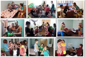 , «СміхоНоси» допомагають маленьким пацієнтам лікарні впоратися з хворобою сміхом, Міська  дитяча лікарня №5