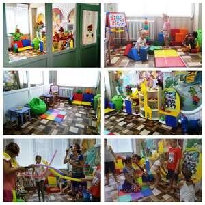 В урологічному відділенні лікарні відкрито ігрову кімнату Міська дитяча лікарня №5 детская больница Запорожье