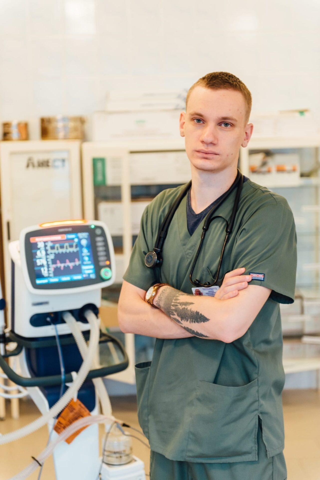 анестезиолог доктор Тихоновский