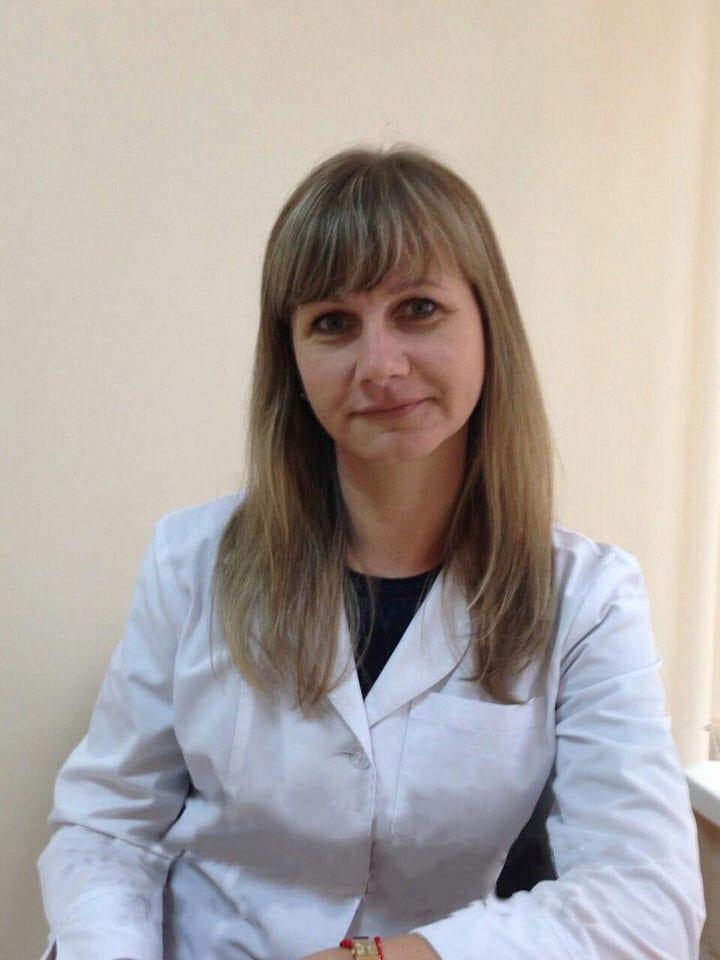 Корсакова Олена Володимирівна Міська дитяча лікарня №5 детская больница Запорожье