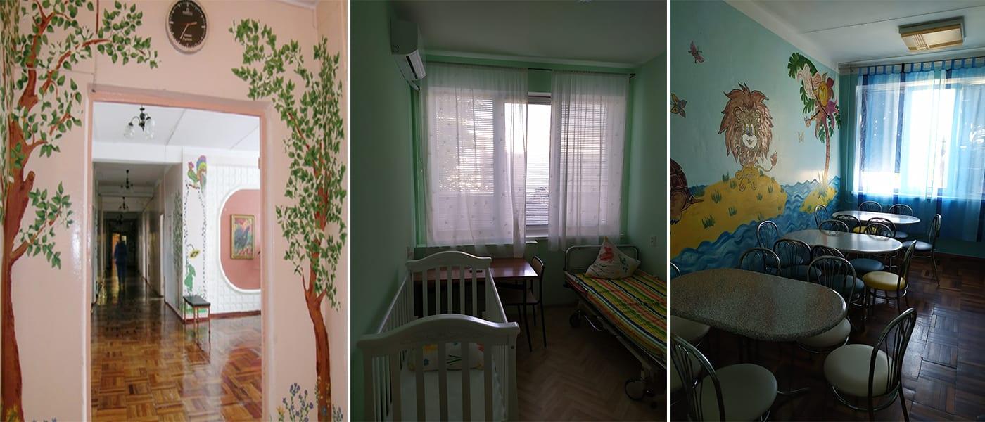 Відділення планової та екстреної хірургії Міська дитяча лікарня №5 детская больница Запорожье