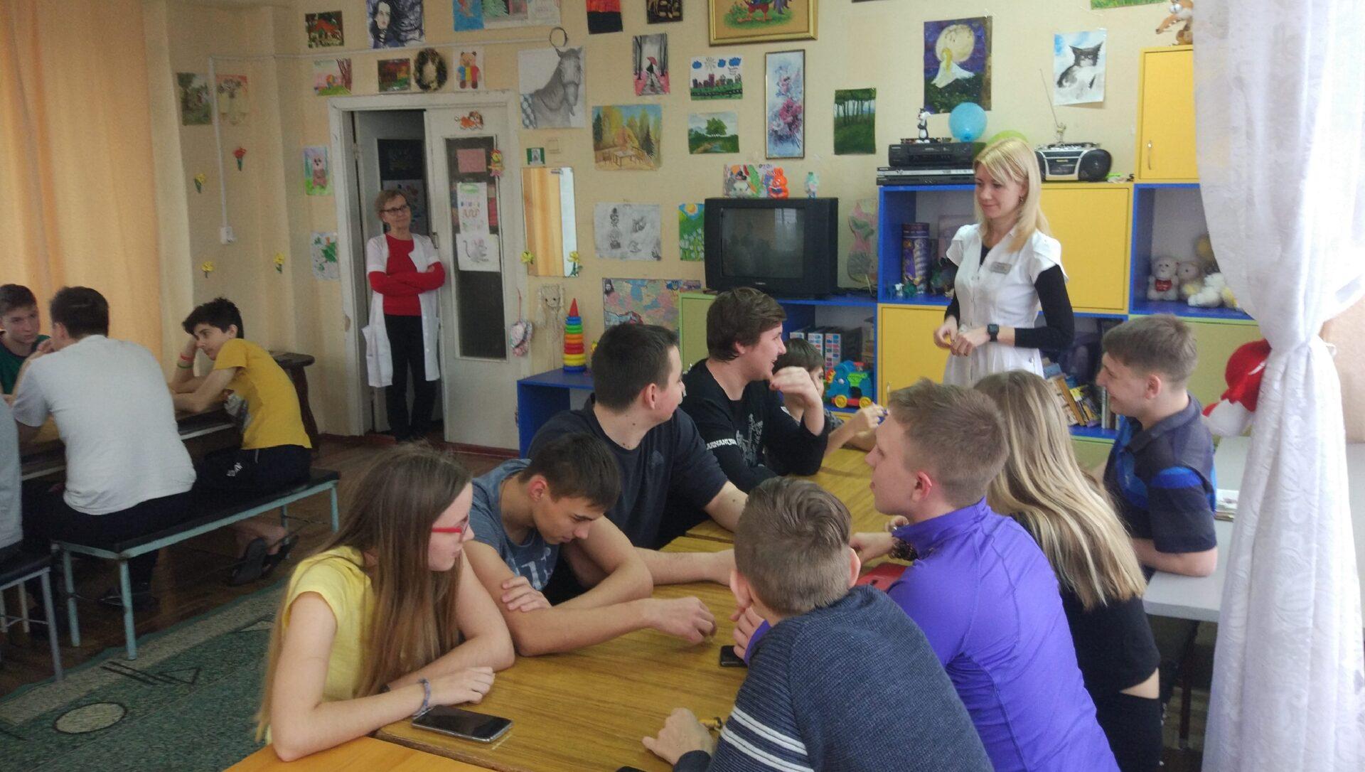Тренінг - навчання з дітьми: «Я керую своїми емоціями» Міська дитяча лікарня №5 детская больница Запорожье