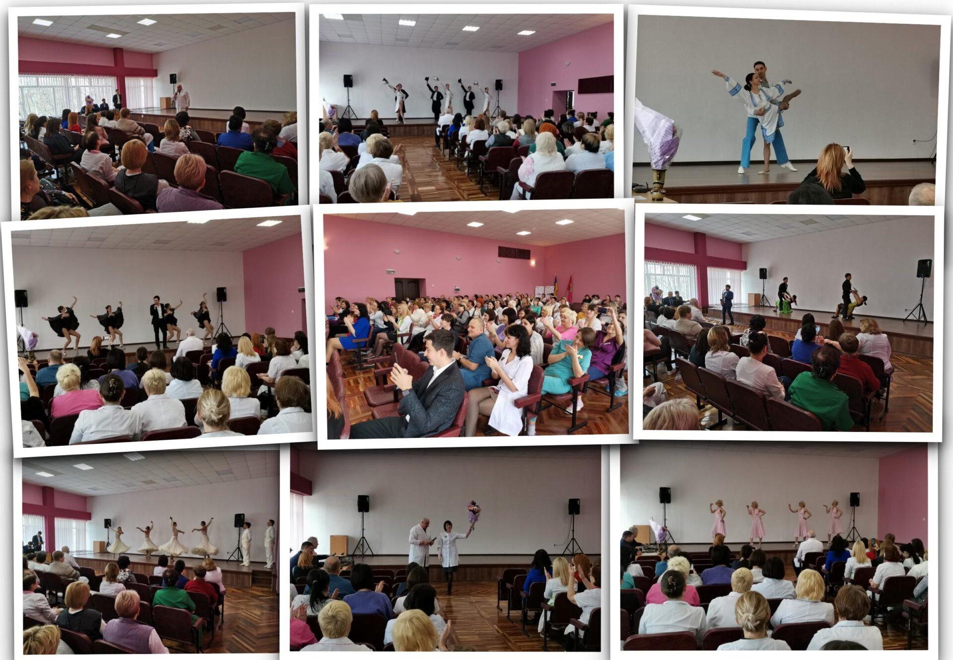 Святковий концерт до Міжнародного жіночого дня Міська дитяча лікарня №5 детская больница Запорожье