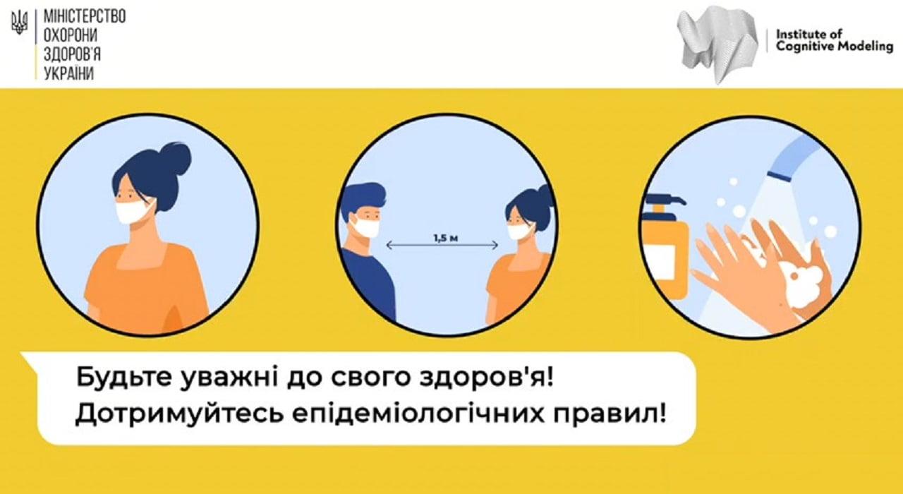 Дотримання правил при COVID-19 Міська дитяча лікарня №5 детская больница Запорожье