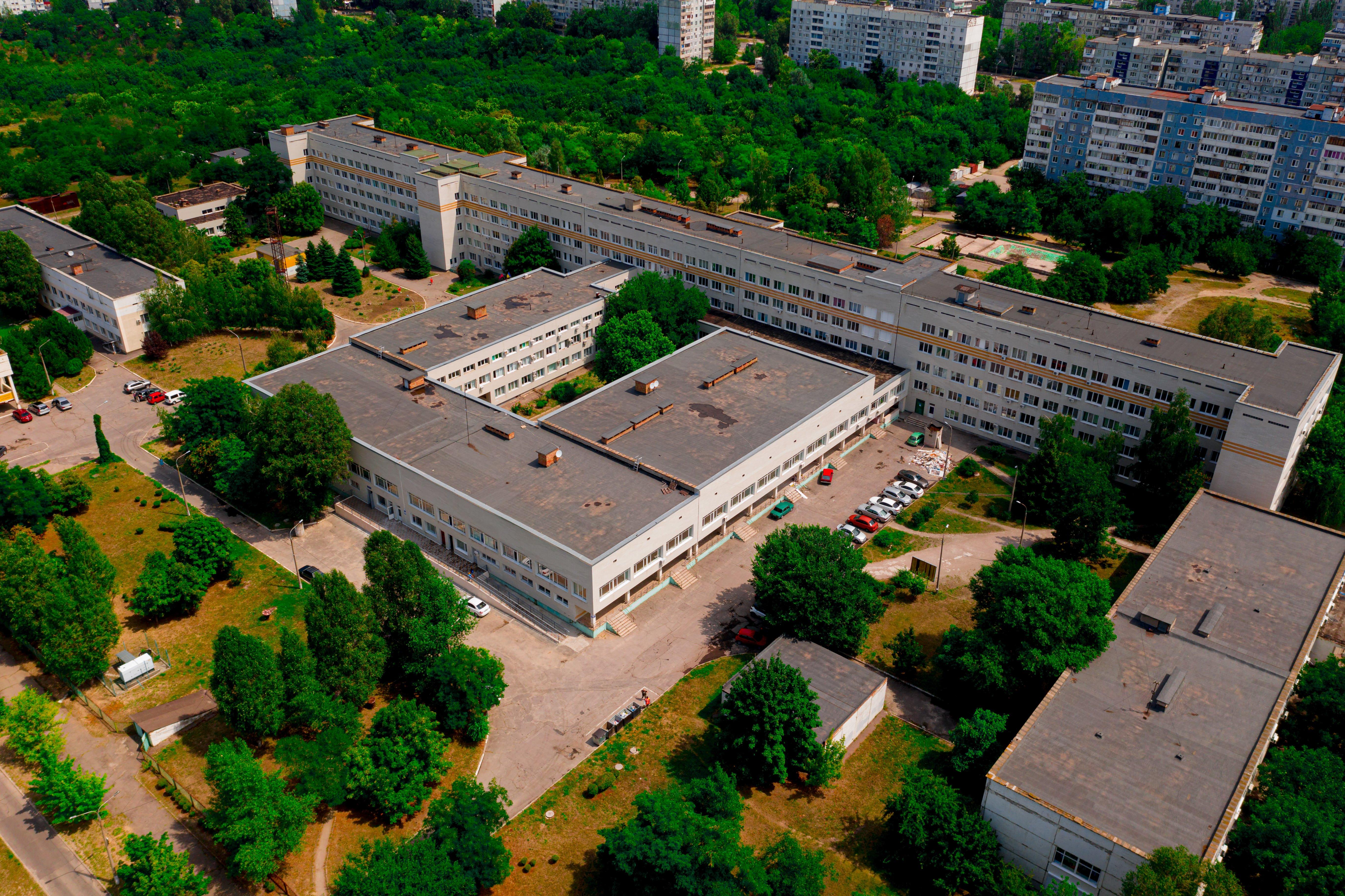 детская больница запорожье
