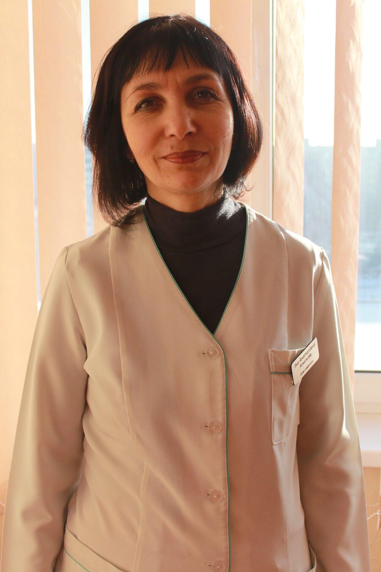 Ковальова Інна Анатоліївна Міська дитяча лікарня №5 детская больница Запорожье