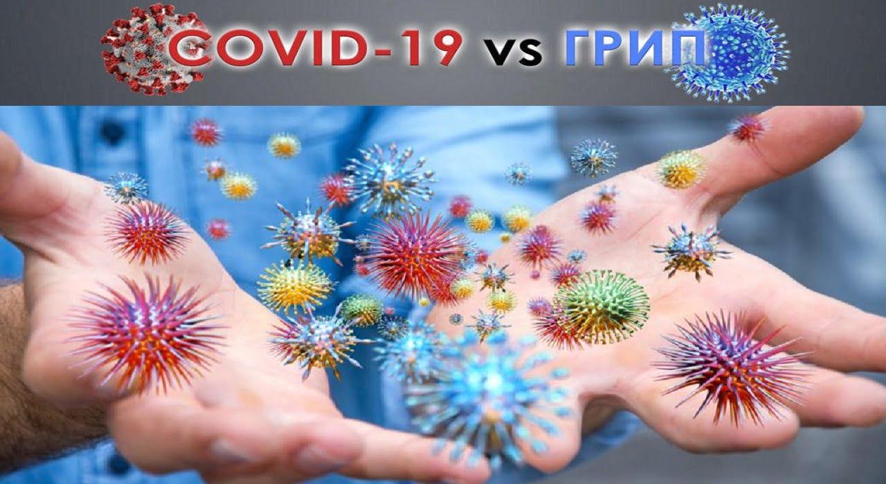 COVID-19 та грип. Як відрізнити? Міська дитяча лікарня №5 детская больница Запорожье