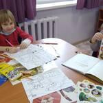 Привітання маленьких пацієнтів з Новорічними святами Міська дитяча лікарня №5 детская больница Запорожье